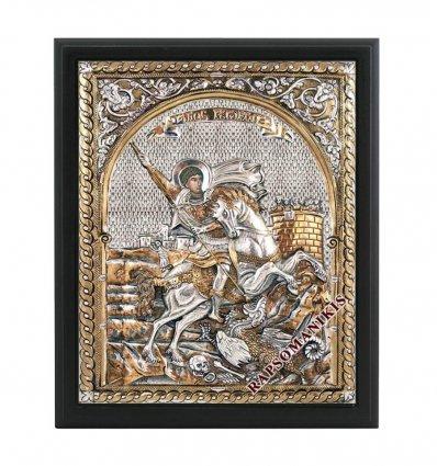 Icoana Bizantina cu Sf. Gheorghe