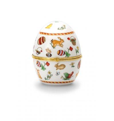 Caseta Ou Faberge din Portelan