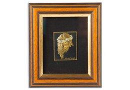 Icoana Iisus incrustata cu Aur24Kt si 18Kt - Diego Velazquez - Toledo