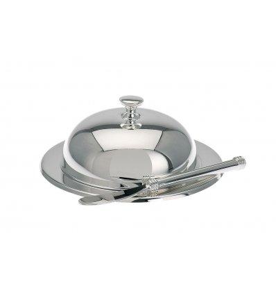 Set argintat - design clasic - untiera si cutit de intins