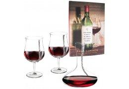 Set pentru vin cu cristale Swarovski - Made by Chinelli Italy