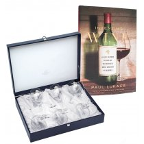 "Set de 6 pahare pentru vin ""Arabesque White Gold"" by Chinelli Italy"