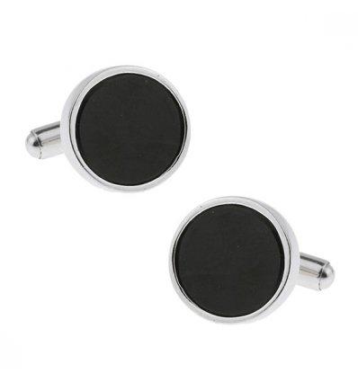 Butoni din Argint 925 Luxury Black Tie