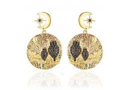 Cercei cu cristale Turkish Elegance