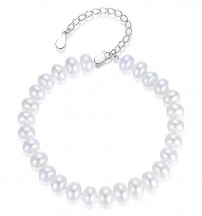 Bratara argint 925 si perle