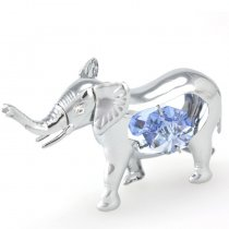 Figurina Elefant cu Cristale Swarovski