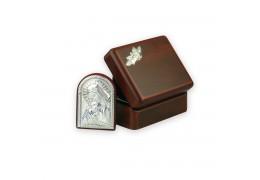 Iconita argintata in caseta
