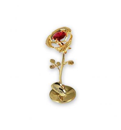 Trandafir cu cristale Swarovski