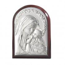 Iconita pe foita de argint - Marturie nunta/ botez