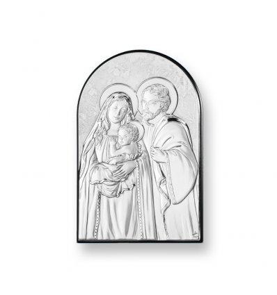 Iconita pe foita de argint - Marturie nunta /  botez