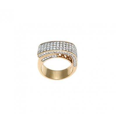 Inel din argint cu zirconiu