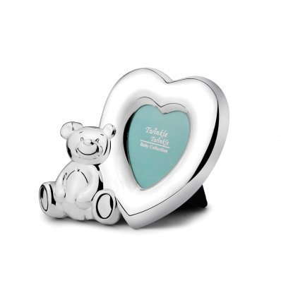 "Rama foto argintata ""Lovely Bear"" - colectia Twinkle"