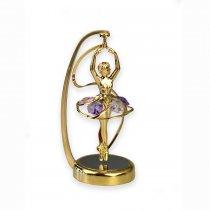 "Balerina cu cristale Swarovski - stil ""Perpetuum Mobile"""