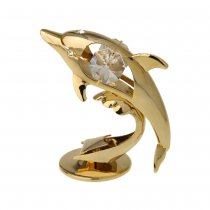 Delfin cu cristale Swarovski