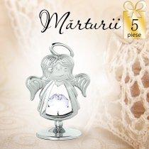 Ingeras cu cristale Swarovski - oferta de 5 marturii
