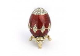 Royal Velvet - Ou Faberge - Casetuta cu cristale