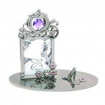 Cenusareasa - Rama foto cu cristale Swarovski