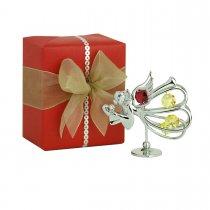 Ingerasul indragostit, decorat cu cristale Swarovski si ambalaj de lux