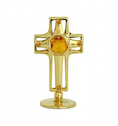 Cruciulita placata cu aur