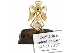 Ingeras cu cristale Swarovski - un cadou de suflet