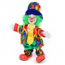 The Joker - clovn din portelan si catifea