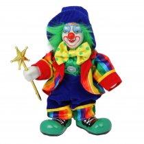 Mr. Tricks - clovn din portelan si catifea