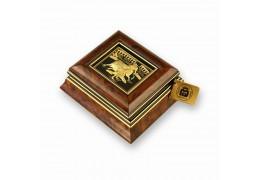 Caseta de bijuterii incrustata cu fir de aur Toledo