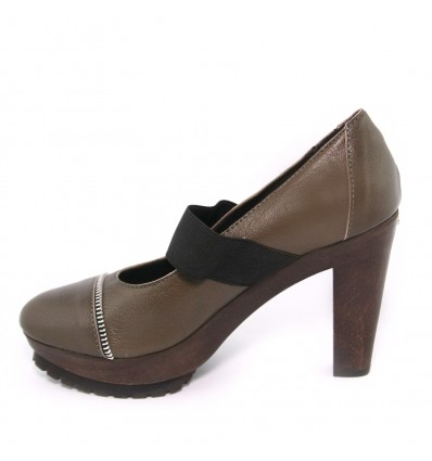 Pantofi din piele maro Dr Scholl