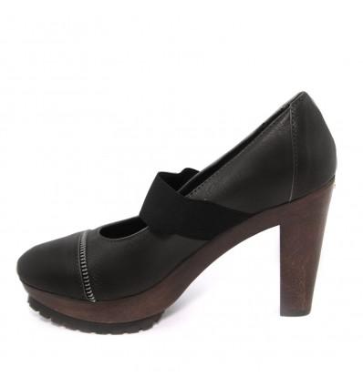 Pantofi din piele neagra Dr Scholl