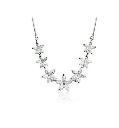 Crystal Stars - colier cu zirconiu