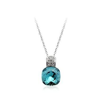 Deep Blue - colier cu cristale