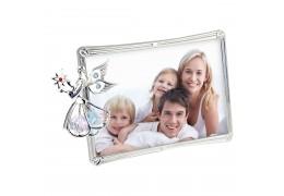 Rama foto cu ingeras decorat cu cristale Swarovski