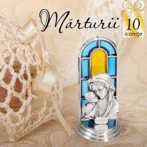 Statuete argintate - oferta de 10 marturii de botez