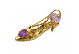 Pantofior cu cristale Swarovski
