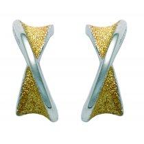 Cercei din argint placati cu aur 14K - PARURE Milano