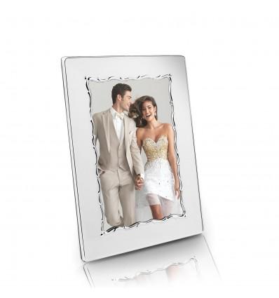 Rama foto argintata Fancy 10 x 15 cm