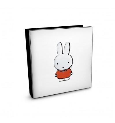 Album foto argintat Miffy 10 x 15 cm