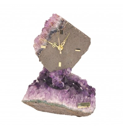 Ceas din roca de ametist - Ebano