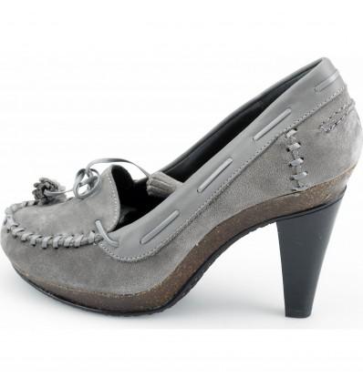 Pantofi gri piele intoarsa SCHOLL