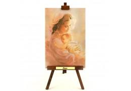 Maternitate - tablou pe sevalet