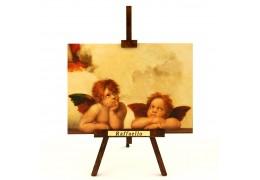 Angeli Raffaello -  tablou pe sevalet