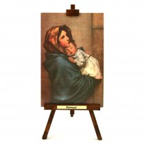 Madonnina - Roberto Ferruzzi tablou pe sevalet