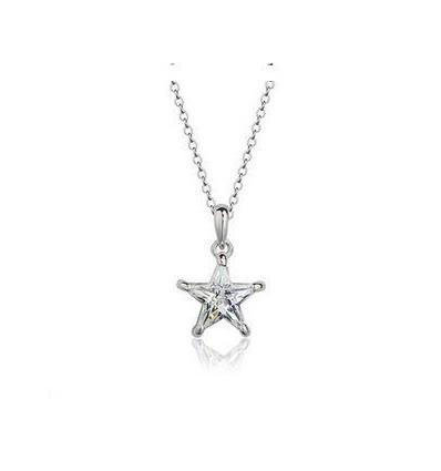 Shining Star - White Colier cu cristal Swarovski