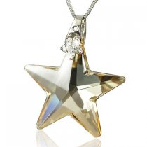 Christmas Star - colier cu cristale Swarovski