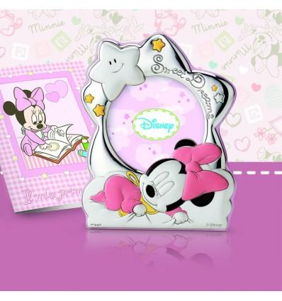 Minnie - Rama foto pe foita de argint si jurnal Disney