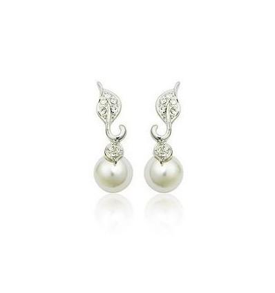 Love letters - Cercei cu perle si cristale austriece