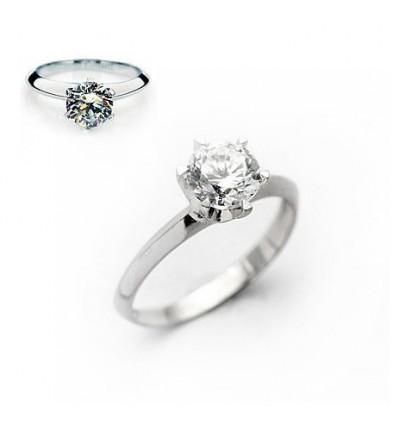 Promises  - Inel din argint cu zirconiu