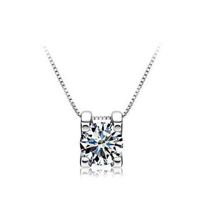 Colier din argint - Crystal Vision