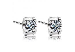 Crystal Vision - cercei de argint cu cristale Swarovski