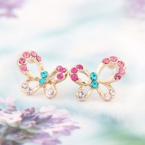 Happy Butterflies - cercei cu cristale austriece